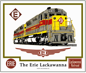 Mouse Pad Erie-Lackawanna
