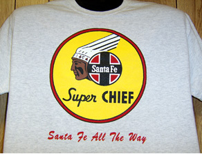 T-Shirt Santa Fe Super Chief Logo