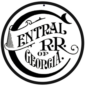 Central of Georgia OLD Logo Round
