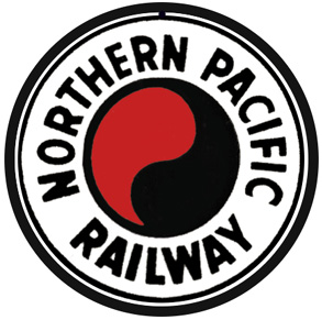 Northern Pacific Rwy Logo Round