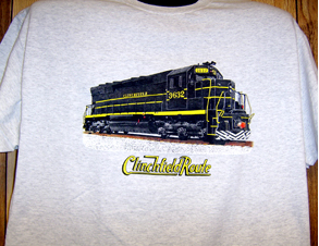 T-Shirt Clinchfield SD45 Diesel
