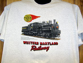 T-shirt Western Maryland Shay #6