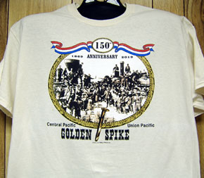 T-Shirt Golden Spike Celebration
