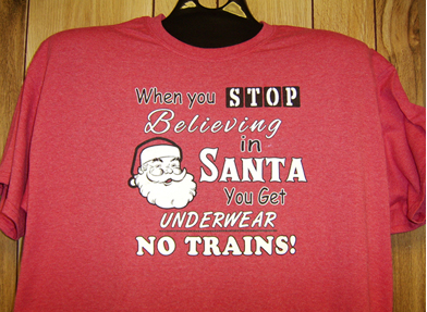 T-Shirt Santa Believe