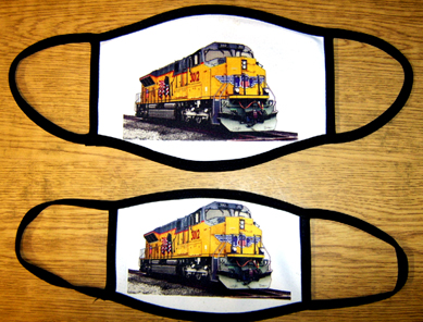 Mask Union Pacific Diesel Mask