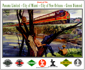 Tin Sign IC New Orleans