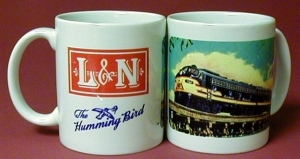 Coffee Mug L&N at Biloxi Bay