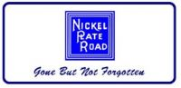 License Plate Nickel Plate Road