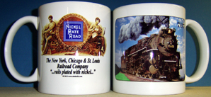 Coffee Mug Nickel Plate 765