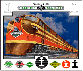 Mouse Pad IC Night Train
