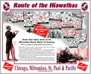 Tin Sign Milwaukee Map