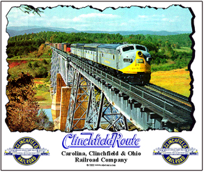 Mouse Pad Clinchfield Bridge