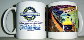 Coffee Mug Clinchfield Nolichucky Gorge